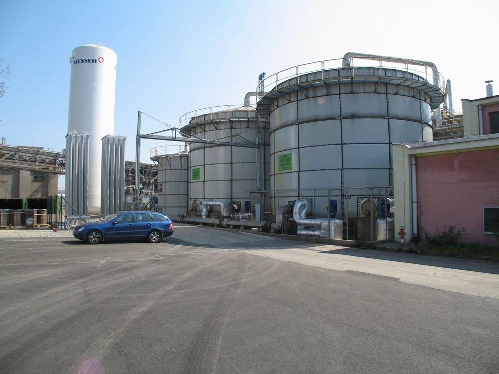 Bilogy tanks COV<br />Spolchemie Usti